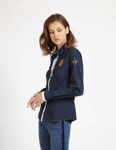 ING LA MARTINA WOMAN SHIRT L/S LIGHT TWILL PR