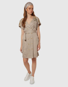 RUHA LA MARTINA WOMAN TENCEL TWILL DRESS