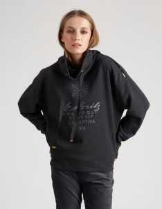 MELEGÍTŐ FELSŐ LA MARTINA WOMAN FLEECE LUREX FLEECE