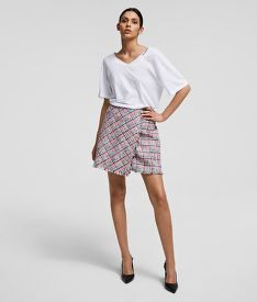 SZOKNYA KARL LAGERFELD SUMMER BOUCLE SKIRT
